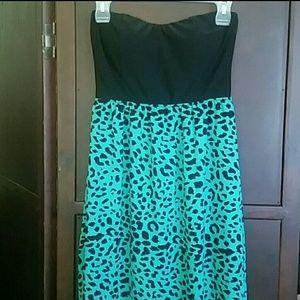 Rue21 cheetah print dress
